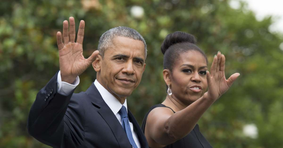 Barack Obama says Michelle would never run for office, but he'd support her